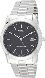 Casio Men's Black Dial Stainless Steel Analog Watch - MTP-1141A-1ARDF
