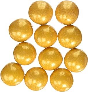 Gold 1 Inch Gumballs 1LB Bag