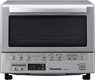 Panasonic FlashXpress Compact Toaster Oven with Double Infrared Heating, Crumb Tray and..