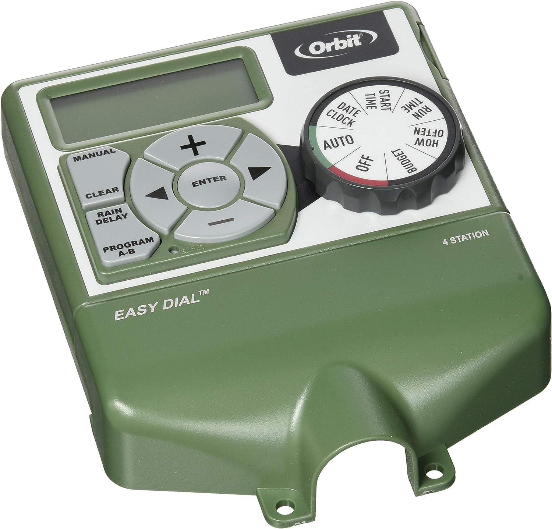 Orbit Underground 57874 4-Zone Indoor Timer Water Irrigation Controller