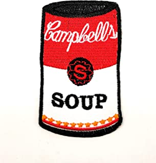 Powerwolf2008 Soup Campbell's Launches New Trio of Latin-Inspired Condensed Cooking Soups Patch Logo Sew Iron on Embroidered Appliques Badge Sign Costume
