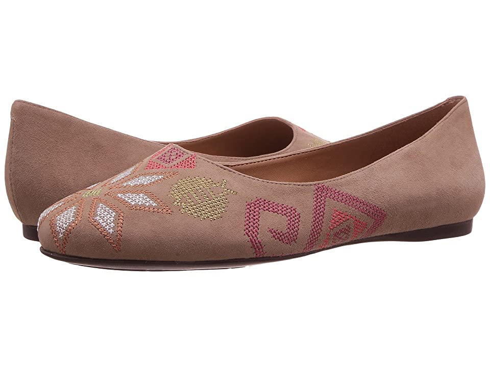 French Sole Yasmin (Taupe Suede) Women