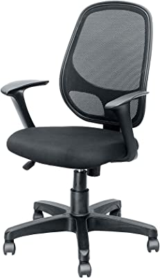 Symphony Mesh Fix Medium Back Chair C021 by Furniture Magik