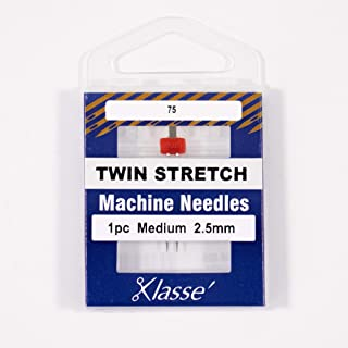 Klasse AA5156.025 Twin Stretch Needle 2.5mm, 1 Pack