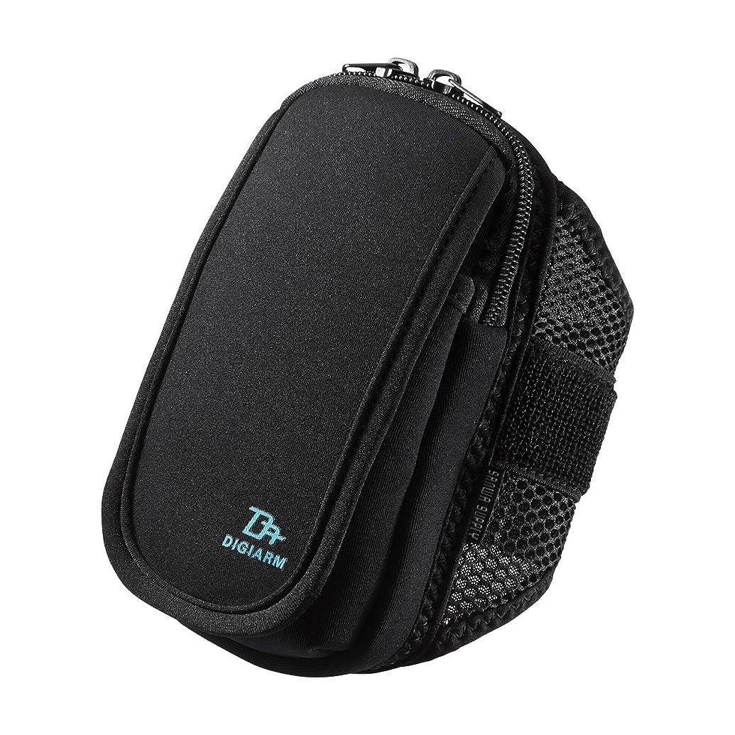 ヒロイン高度リレーサンワサプライ アームバンドスポーツケース(Mサイズ?5.2インチ?ブラック)  PDA-ARM3BK