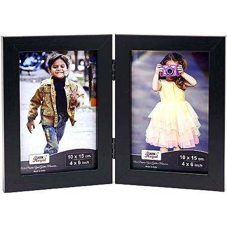 Ajanta Royal Couple Photo Frame Insert : A-25A(4x6) (Black)