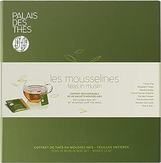 Palais des Thés Assortment of 8 Signature Teas in Muslin, 48 Tea Bags