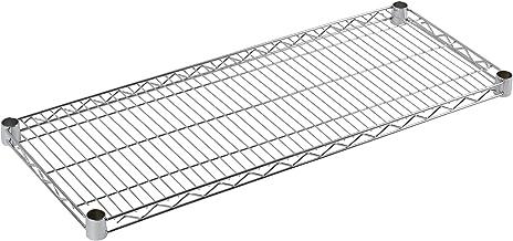 Archimede Systeem, plank, grijs (verchroomd), 36 x 36 x 4 cm