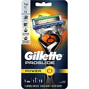 Gillette ProGlide Power Men's Razor Handle + 1 Blade Refill