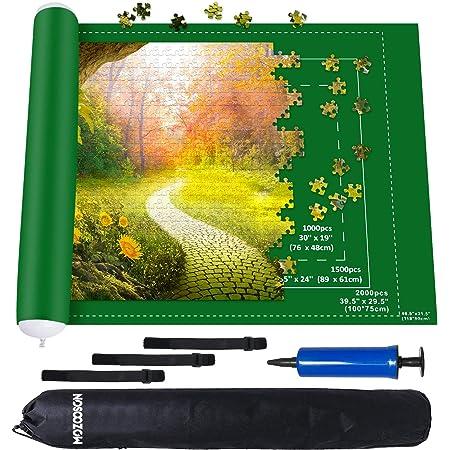 MOZOOSON Tapis Puzzle XXL 1000 1500 2000 Accessoires pour Puzzles, Tapis de Rangement pour Puzzle Adulte, Puzzle Roll up Mat Épaisseur 1 MM