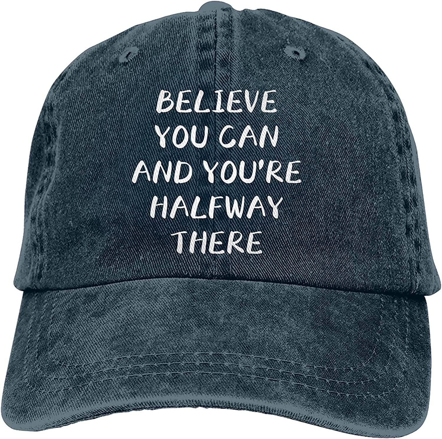 Believe You Can and Opening large release sale You're Max 85% OFF Halfway Cap There Ha Baseball Trucker