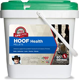 Formula 707 Hoof Health Equine Supplement, 5lb Bucket – Biotin, Amino acids, and Minerals to Improve and Support Healthy H...