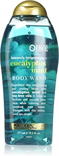 OGX Intensely Invigorating + Eucalyptus Mint Body Wash, 19.5 Ounce