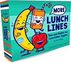 More Lunch Lines: Tear-out Riddles for Lunchtime Giggles (Lunch Jokes for Kids, Notes for Kids' Lunch Boxes with Silly Kid...