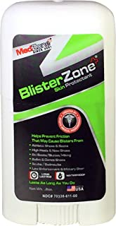 Blister Blocker Stick by Medzone - Anti Blister Balm for Foot and Hands - 0.8 Oz Stick