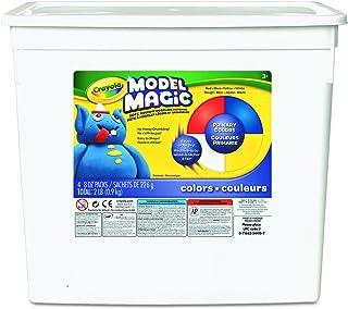 Crayola Model Magic Neon, Modeling Clay Alternative 2 lbs 57-4415