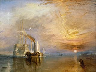 """Wallhogs Turner The Fighting Temeraire (19th) Glossy Poster 18""""x24"""""""