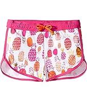 Hatley Kids - Tropical Pineapple Swim Shorts (Toddler/Little Kids/Big Kids)