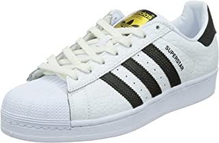 Adidas Mens Superstar Animal Leather Trainers