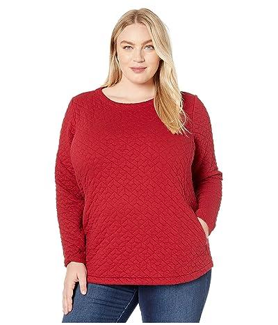 Columbia Plus Size Sunday Summittm Pullover (Beet) Women