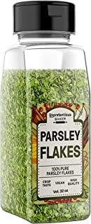 Parsley Flakes, 1/2 Cup, Highest Quality & 100% Pure, High In Nutrients, Heart Healthy*, Versatile for Any Entrée, Conveni...