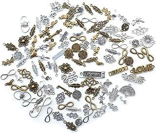100 قطعة 2021 عام سحر قلادة المعلقات diy مجوهرات اكسسوارات صنع رجل النساء مجوهرات 14x10 مم