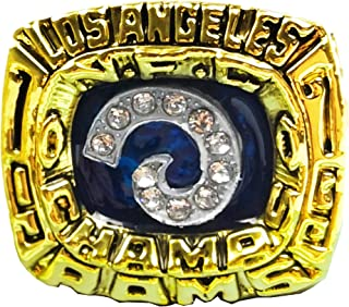 1979 NFL Los Angeles Rams National Football Replica Championship Rings Christmas Day Gift