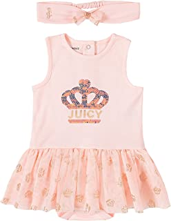 Juicy Couture Baby Girls' Tutu Bodysuit with Headband