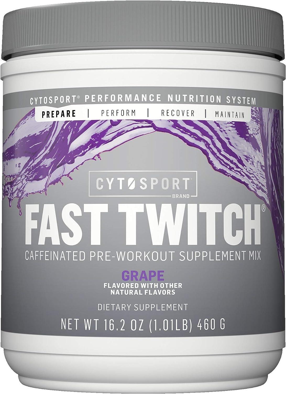 CYTOSPORT Cytosport Fast Twitch Max 69% OFF Supplem Caffeinated Max 77% OFF Pre-Workout