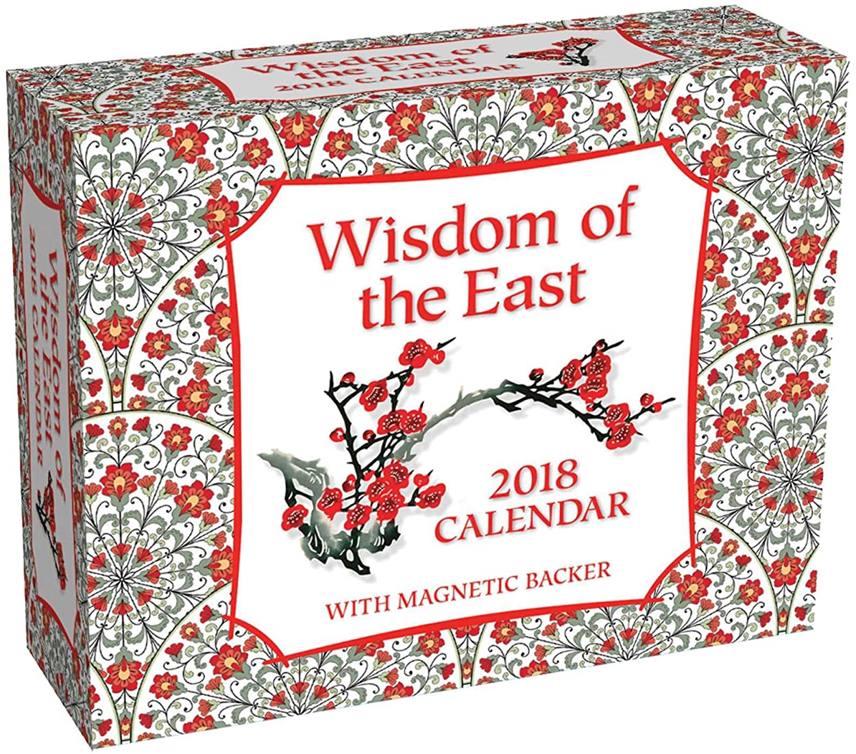 含意信条無秩序Wisdom of the East 2018 Mini Day-to-Day Calendar