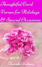Thoughtful Card Verses for Holidays & Special Occasions (English Edition)