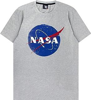 NASA Space Distressed Logo Men's T-Shirt