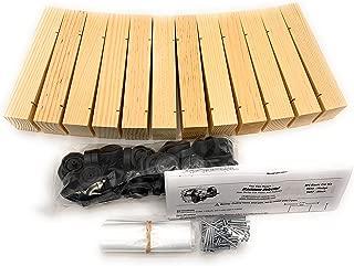Maximum Velocity Derby Car Kits | Bulk Pack (12) | Pine Block Kits Includes Wheels & Axles | Pinewood Derby Car Kits