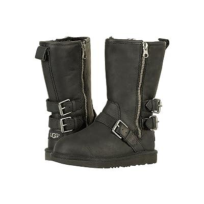 UGG Kids Kaila (Toddler/Little Kid/Big Kid) (Black) Girls Shoes