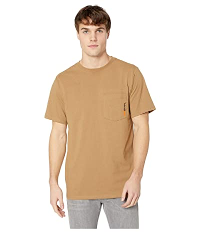Timberland PRO Base Plate Blended Short Sleeve T-Shirt (Dark Wheat) Men