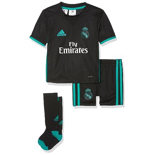 adidas Mini Conjunto Equipación Línea Real Madrid Temporada 2017 2018 ed503648103ec