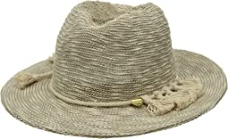 Vince Camuto - Tasseled Packable Panama Hat
