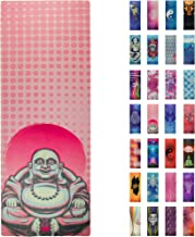 Soul Obsession Printed Yoga Mat, Prana Yoga Mat, Bikram Yoga Mat – Incredibly Comfortable Yoga Mats for Men and Women - Gorgeous Microfiber Printed Designs – Beautiful and Durable Excersize Mat