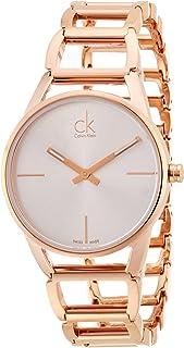 Calvin Klein Womens Quartz Wrist Watch, Analog and Stainless Steel- K3G23626