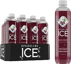 Sparkling ICE, Black Cherry Sparkling Water, with Antioxidants & Vitamins, Zero Sugar, 17 Fl Oz Bottles (Pack Of 12)