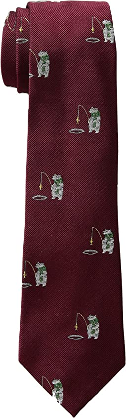 Fish Polar Bear Tie