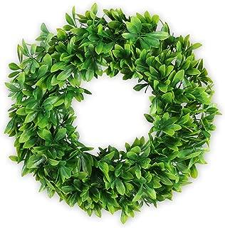 Aonewoe Green Artificial Wreath 17