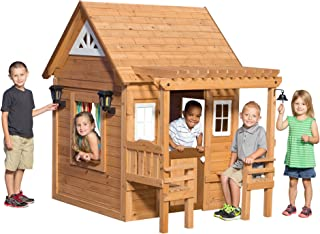 Backyard Discovery Cascade Cedar Playhouse