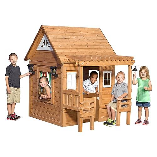 Outdoor Wooden Playhouses Amazoncom