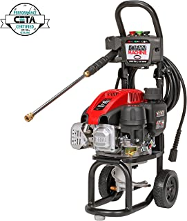 SIMPSON Cleaning CM60912 Clean Machine Gas Pressure Washer Powered by Simpson, 2400 PSI at 2.0 GPM
