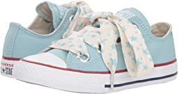 Chuck Taylor® All Star® Star Big Eyelets Ox (Little Kid/Big Kid)