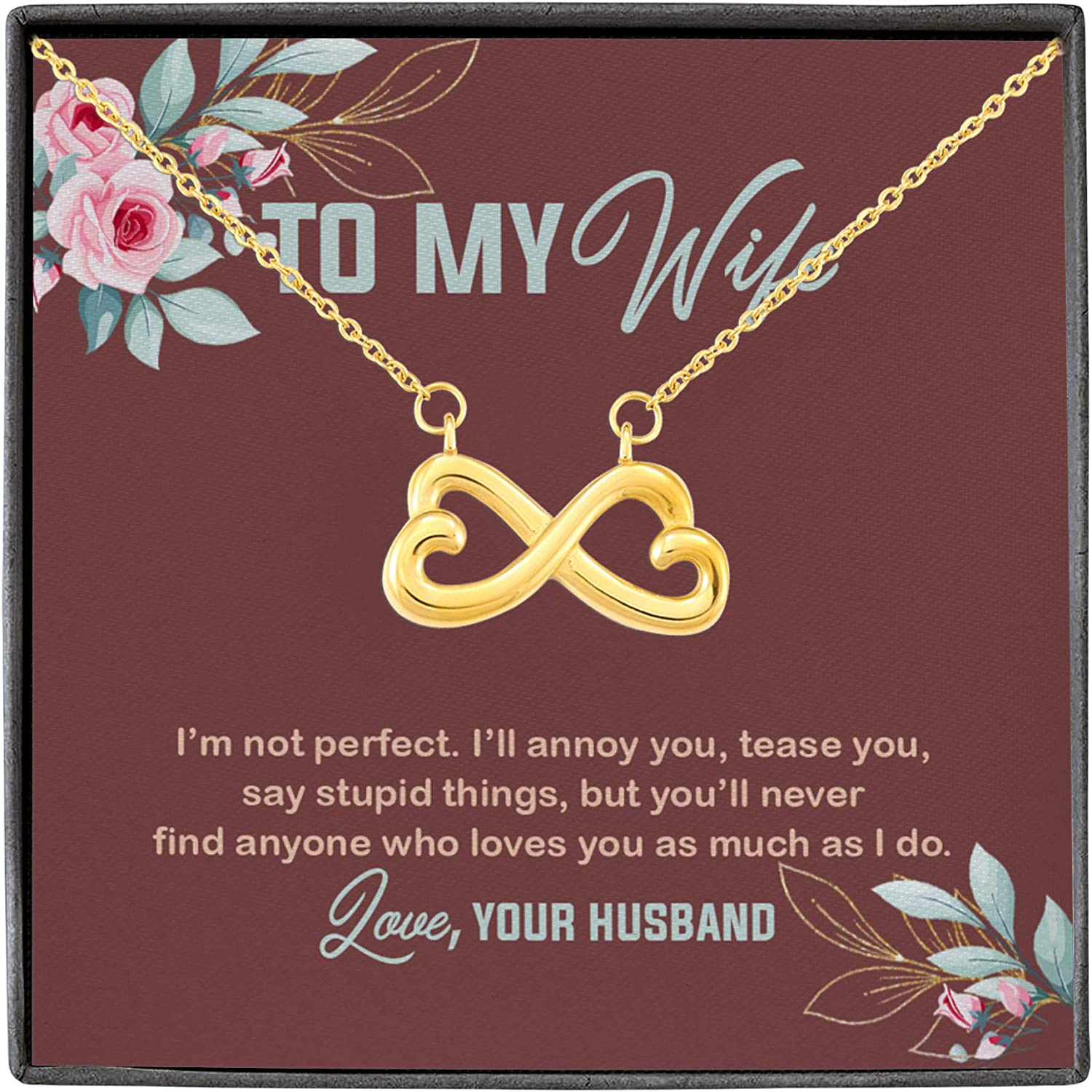 Austin Mall Necklace To Beauty products My Wife I'm Not Say I'll Tease Annoy Perfect You