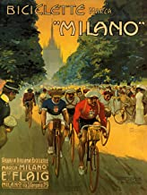 Vintage Posters Milano Racing - Italian Bicycle Advertisement Poster Reproduction (14