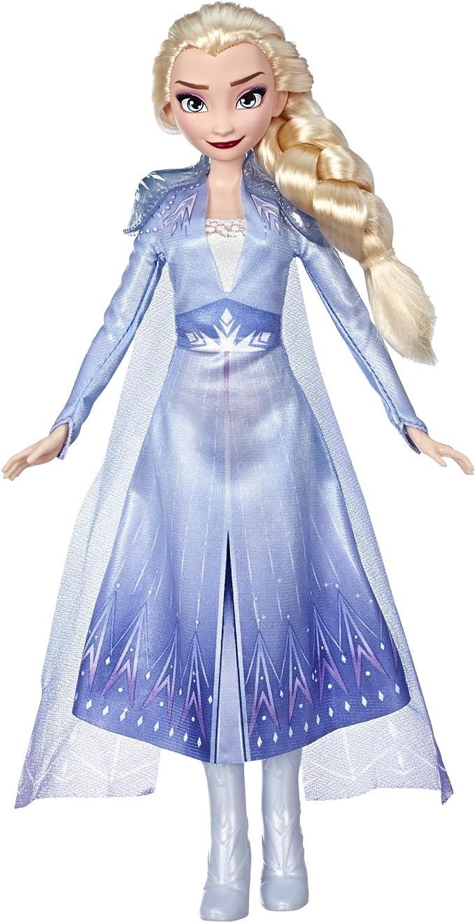 1983 opinioni per Hasbro Disney Frozen- Elsa Fashion Bambola con Capelli Lunghi e Abito Blu,