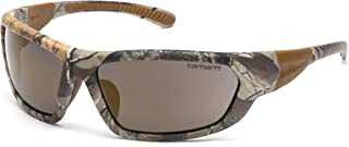 Carhartt CHRT290D Carbondale SAFETY Glasses, Realtree Xtra Frame, Antique Mirror Lens